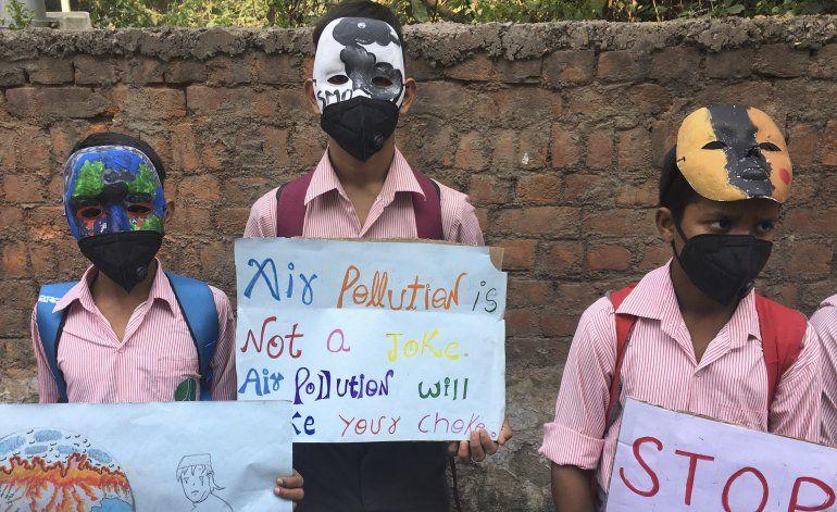 Aumenta la presión al gobierno indio por contaminación
