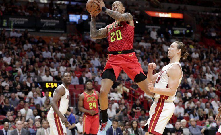 Hawks: Collins suspendido 25 juegos por dopaje