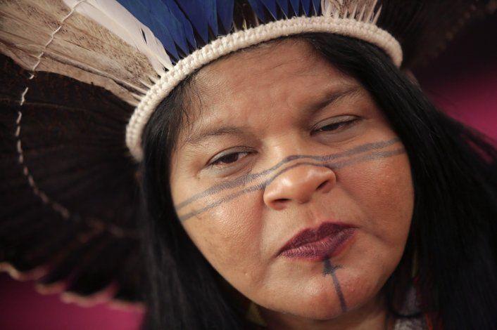Indígena brasileños quieren apoyo europeo en la Amazonía