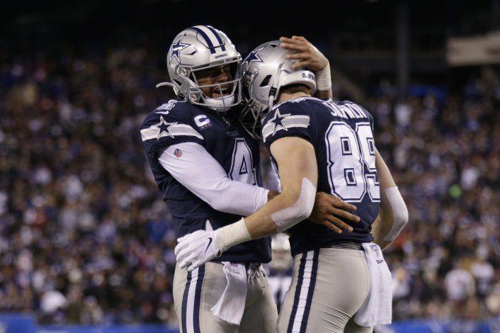 Cowboys, líderes divisionales que inician mal los partidos