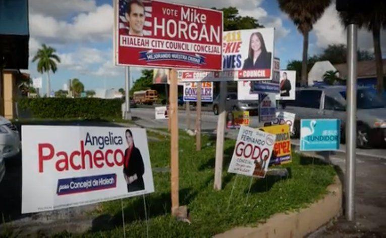 Sorpresa en Hialeah: De los cuatro candidatos que apoyaba Carlos Hernández solo uno se llevó el triunfo