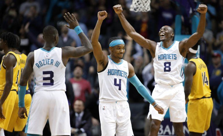 Graham y Biyombo llevan a Hornets a triunfo ante Pacers