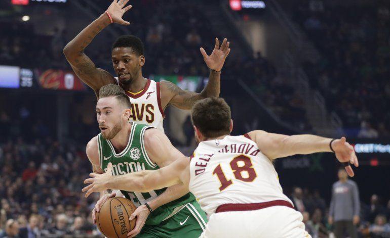 Hayward iguala su marca de 39 puntos; Celtics vencen a Cavs