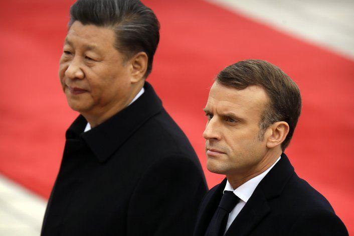 Xi: Viaje de Macron impulsa multilateralismo, libre comercio