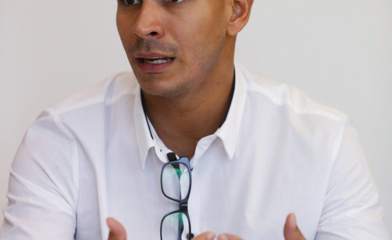 """Venezolano Limardo quiere """"seguir haciendo historia"""""""