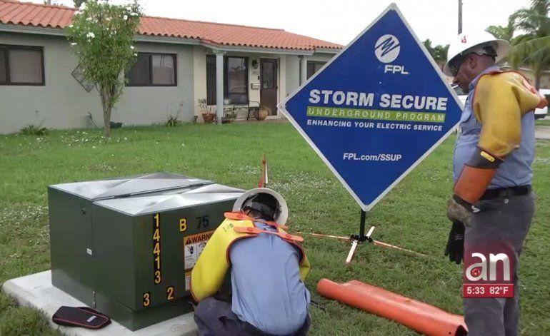 Inician pruebas para instalar lineas eléctricas subterráneas en Hialeah