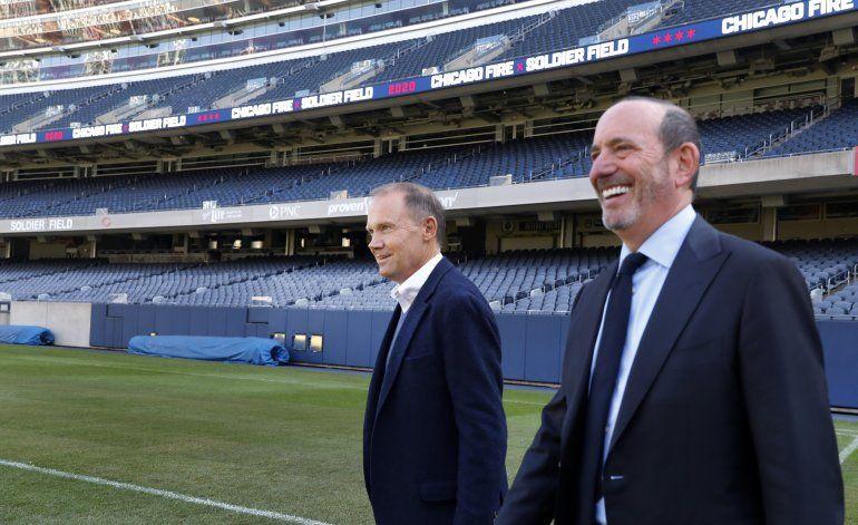 Comisionado resalta éxito de MLS, de cara a negociación