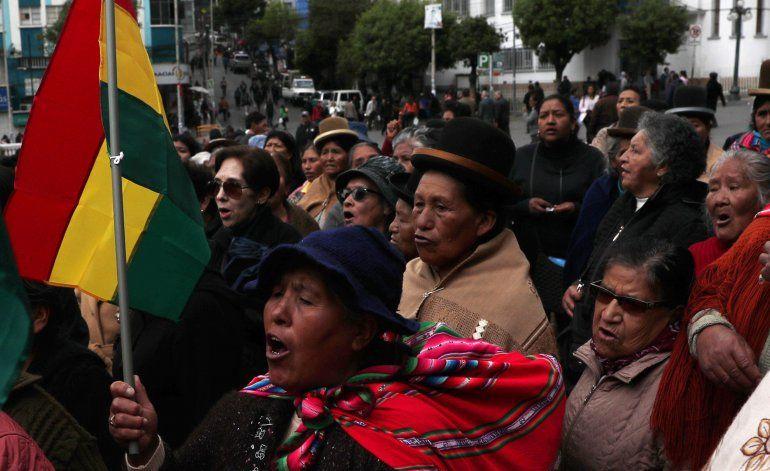 Confirman tercer deceso tras polémicos comicios en Bolivia
