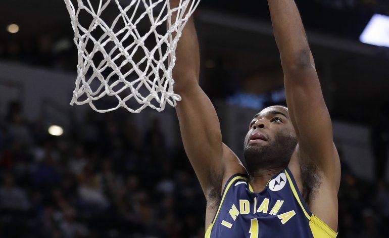Con 21 puntos de Warren, los Pacers vencen a los Wizards
