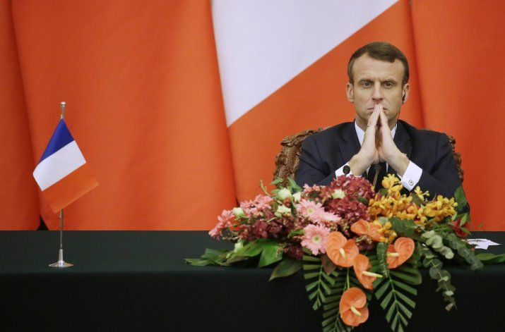 Macron lamenta alejamiento de EEUU de la OTAN