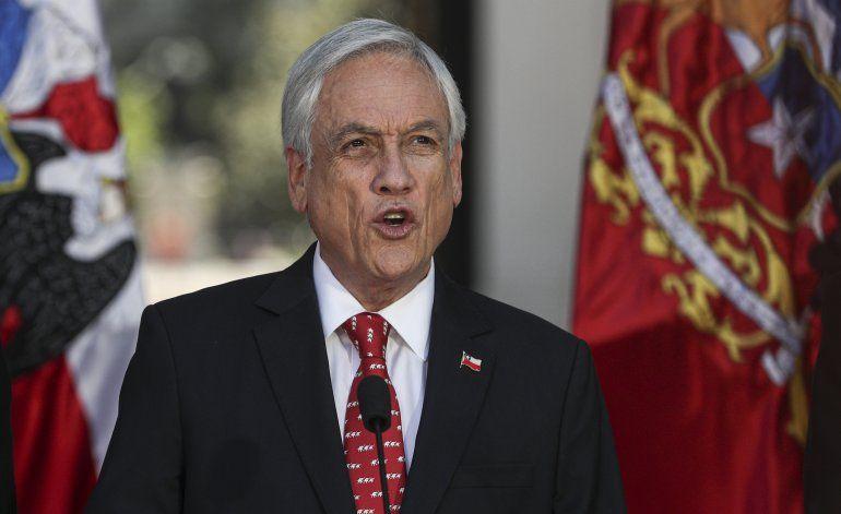 Chile: Piñera anuncia medidas para reforzar el orden público