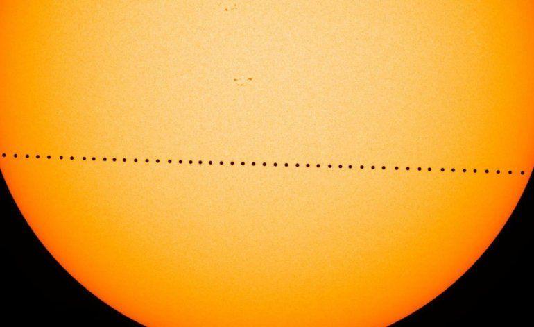 Mercurio ofrecerá raro espectáculo: desfilar frente al Sol