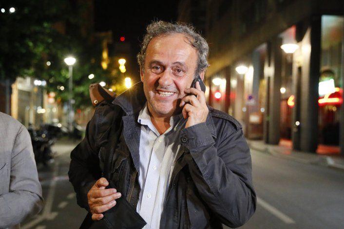 Abogado: Platini reclamará salarios atrasados a la UEFA