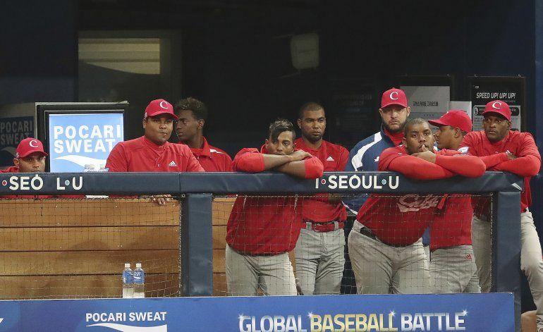 Cuba naufraga en el Preolímpico de béisbol