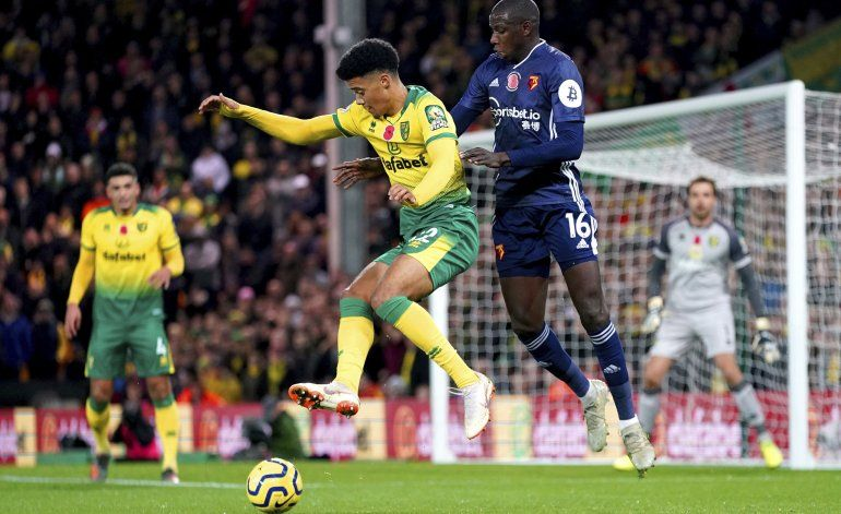 Watford vence a Norwich para su 1ra victoria de la Premier