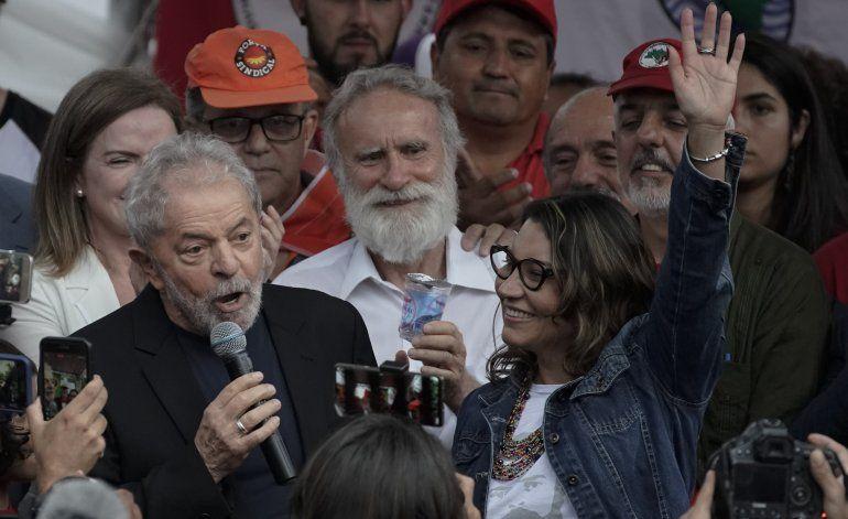 Brasil: Expresidente Lula sale de prisión