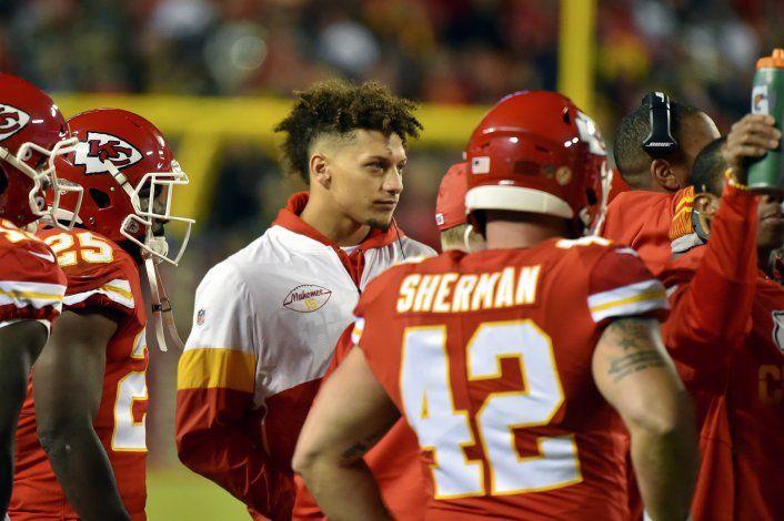 Chiefs: Mahomes será titular ante Titans, salvo imprevisto