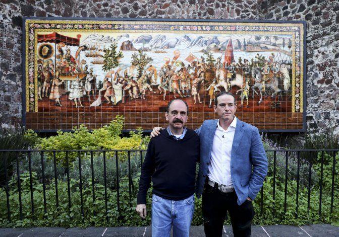 Descendientes de Moctezuma y Cortés se reúnen en México
