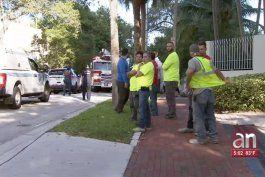 un guardia de seguridad fue baleado en un hotel de coconut grove