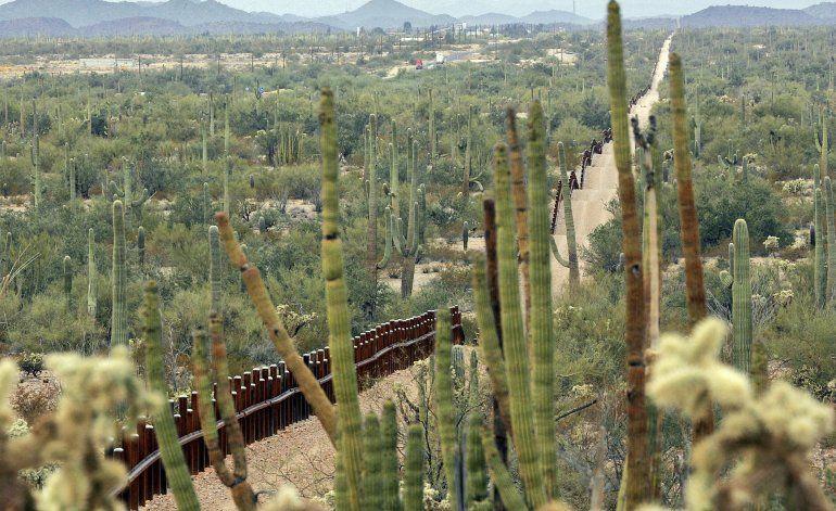 Anuncian protesta contra muro fronterizo de Arizona