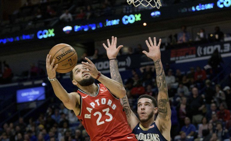 Siakam anota 44 puntos y Raptors ganan 122-104 a Pelicans