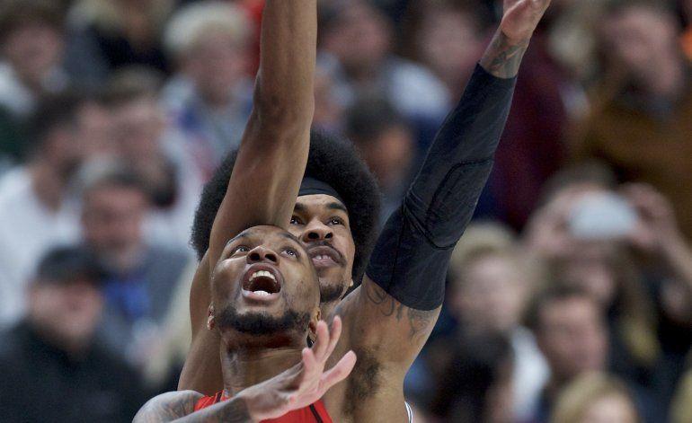Lillard encesta 60 puntos pero Trail Blazers caen ante Nets