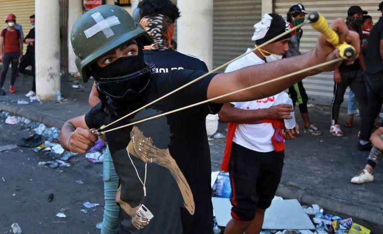 Fuerzas iraquíes matan  a cuatro manifestantes en Bagdad