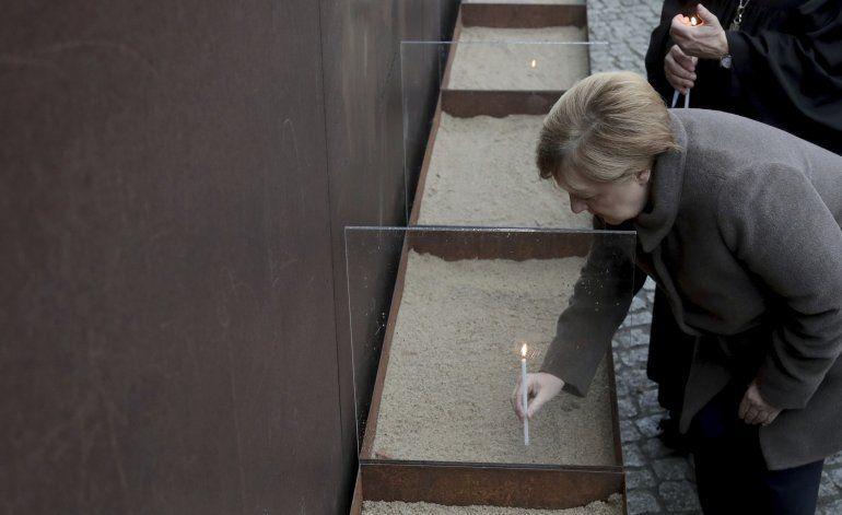 Conmemoran los 30 años de la caída del Muro de Berlín