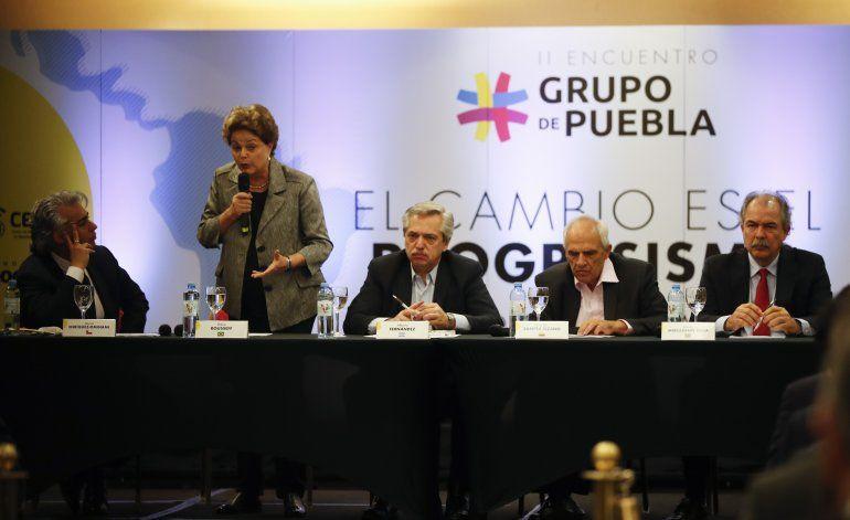 Lula domina encuentro de líderes izquierdistas en Argentina