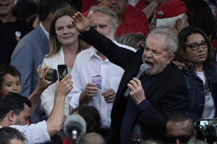 Lula: Izquierda puede recuperar presidencia en 2022