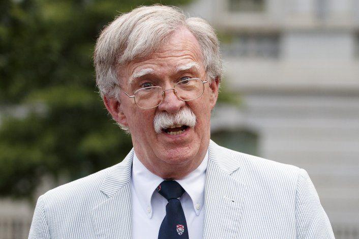 John Bolton, exasesor de seguridad de Trump, publicará libro