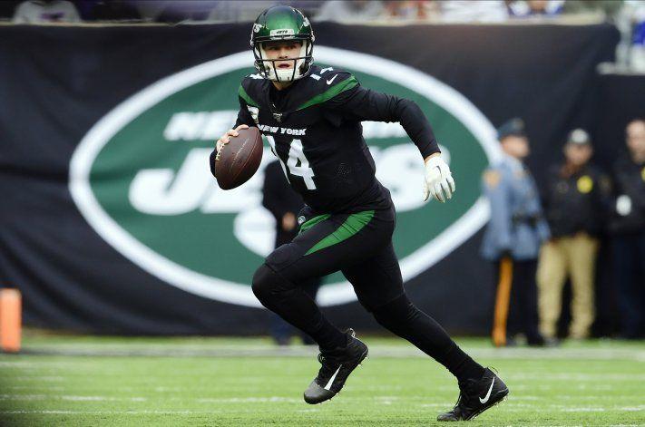 Darnold y Jets superan a Giants 34-27