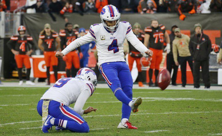 Browns frenan a Bills y rompen racha de 4 derrotas