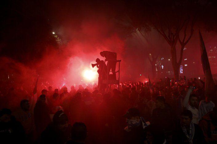 Lyon denuncia que su autobús fue atacado en Marsella