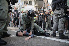 lider de hong kong promete poner fin a protestas