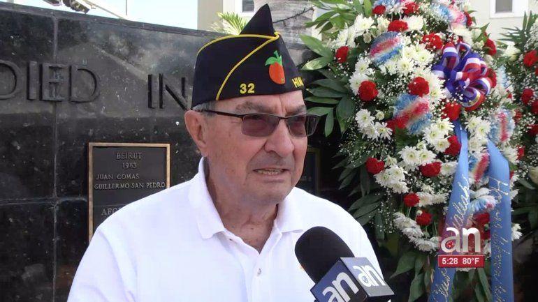 Las ciudades de Miami y Hialeah rinden homenaje a los veteranos