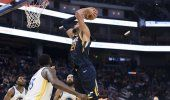 Gobert logra doble-doble y Jazz derrota a Warriors 122-108