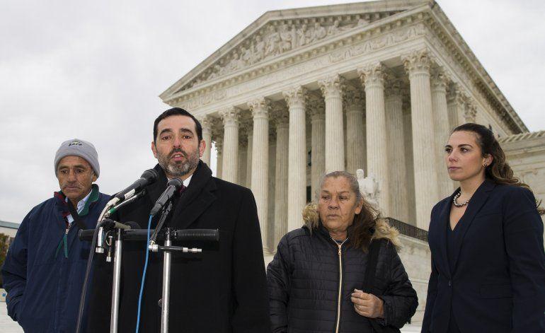 Corte EEUU escucha caso de mexicano baleado en la frontera