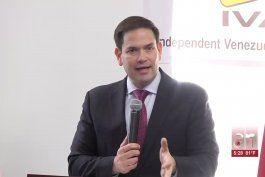 senadores del sur de la florida respaldan transicion en bolivia