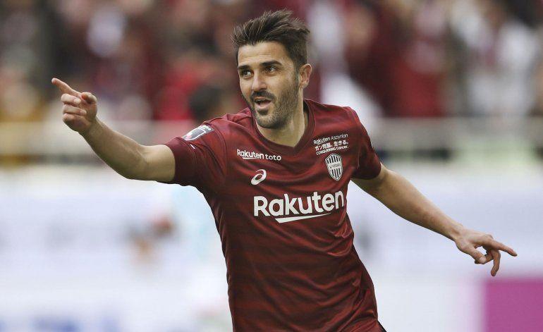 David Villa anuncia su retiro oficial del fútbol