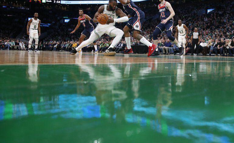 Celtics se imponen a Wizard pese a 44 puntos de Beal