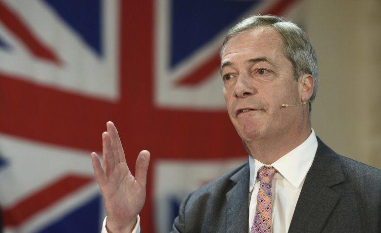 Partido del Brexit rechaza pacto electoral con conservadores