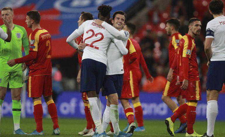 Francia, Inglaterra y Turquía se clasifican a la Euro 2020