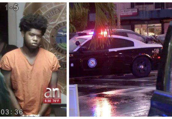 Persecución policial termina con accidente en calle Flagler