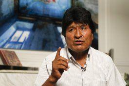 entrevista ap: evo morales espera que onu medie en bolivia