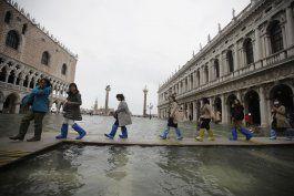 venecia vuelve a inundarse 3 dias despues de marea record