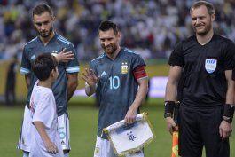 messi vuelve en argentina y le da triunfo ante brasil