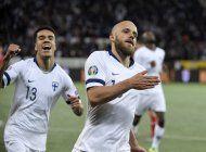 finlandia se clasifica a su primer gran torneo