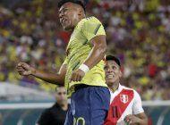 con agonico gol de morelos, colombia gana 1-0 a peru