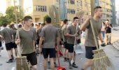 Nuevos choques en una universidad de Hong Kong